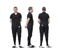 Full protective pants BLACK 800N for men